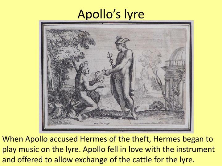 apollo and his lyre - photo #43