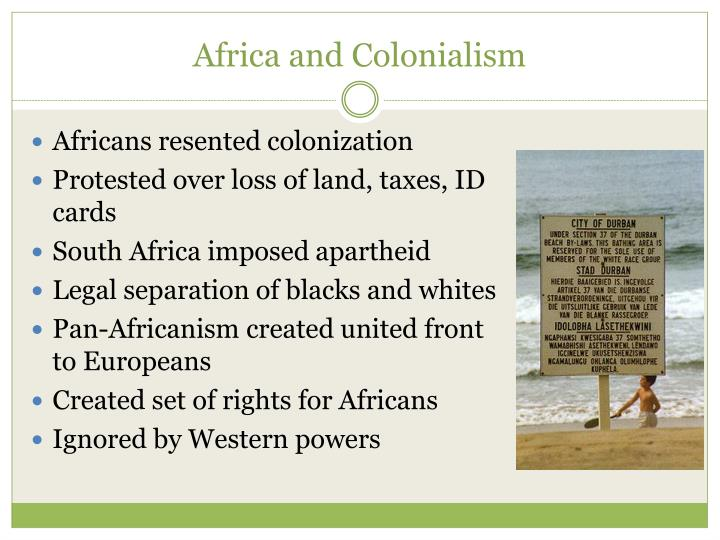 Africa and Colonialism