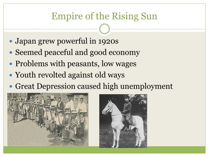 Empire of the Rising Sun