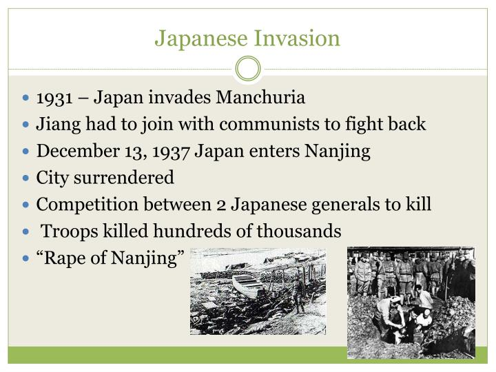 Japanese Invasion