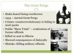 the great purge