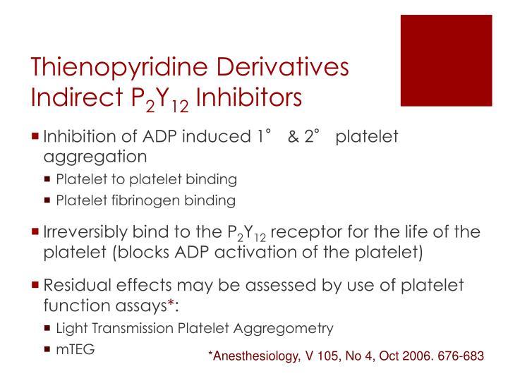 Thienopyridine