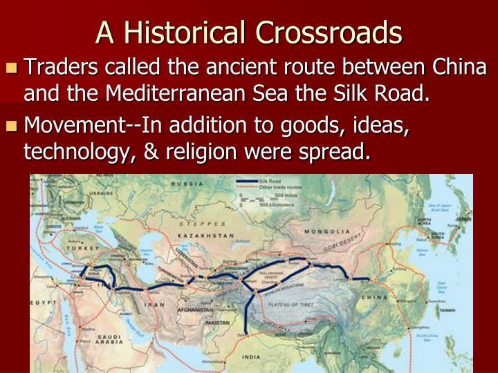 A Historical Crossroads