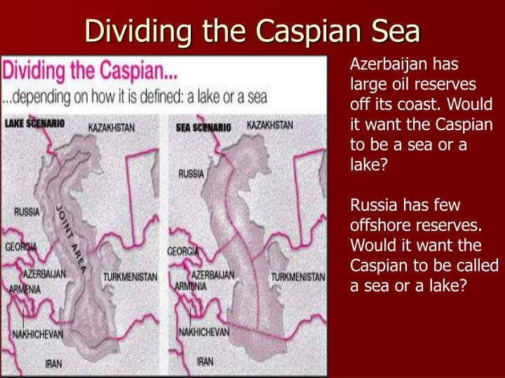 Dividing the Caspian Sea