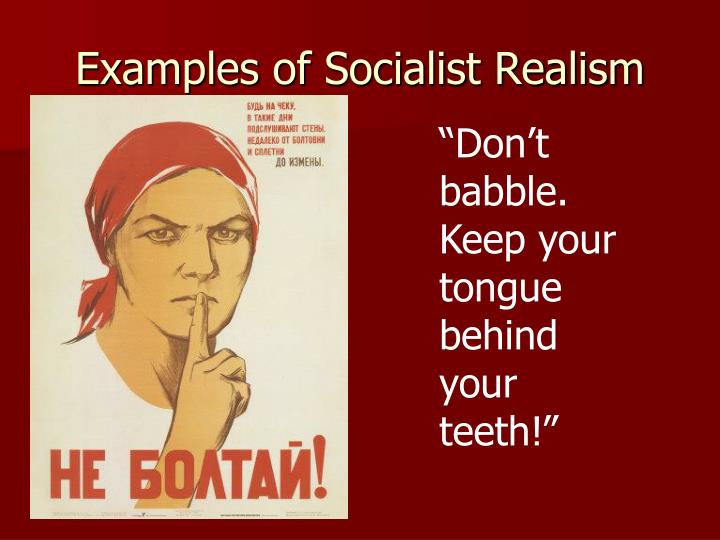 Examples of Socialist Realism