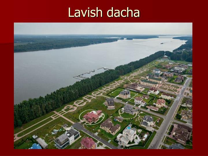 Lavish dacha