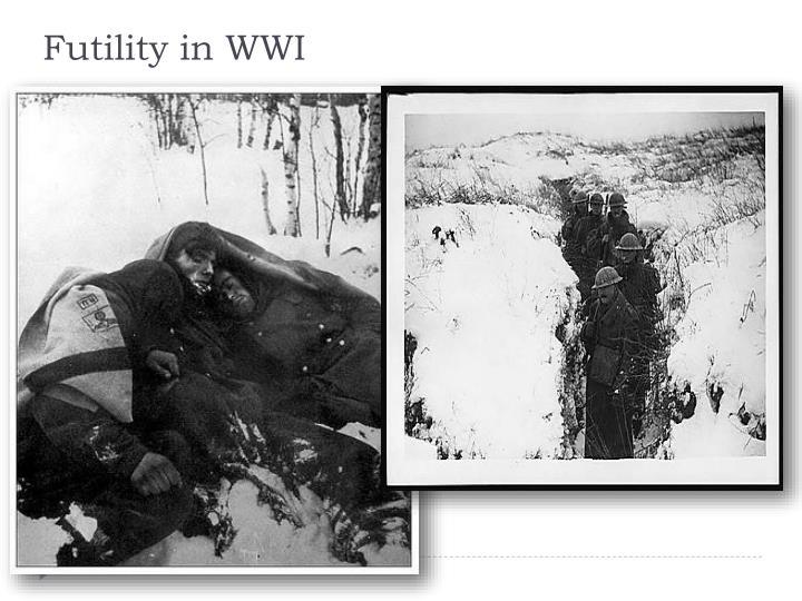Futility in WWI