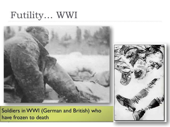 Futility… WWI