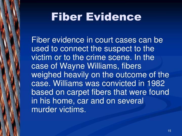 Fiber Evidence