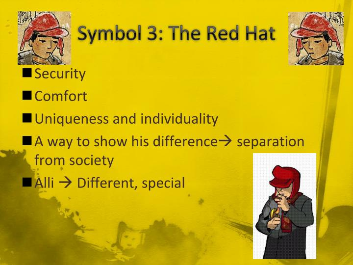 Symbol 3: The Red Hat
