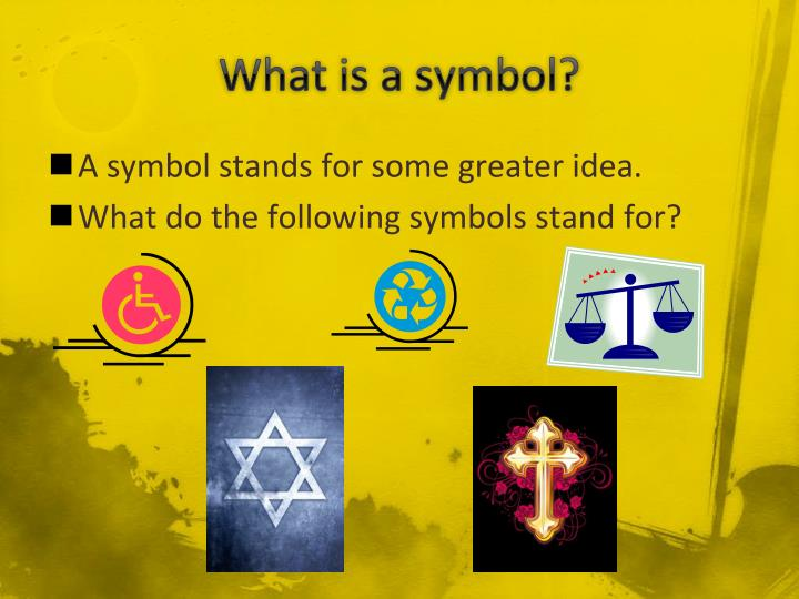 What is a symbol1