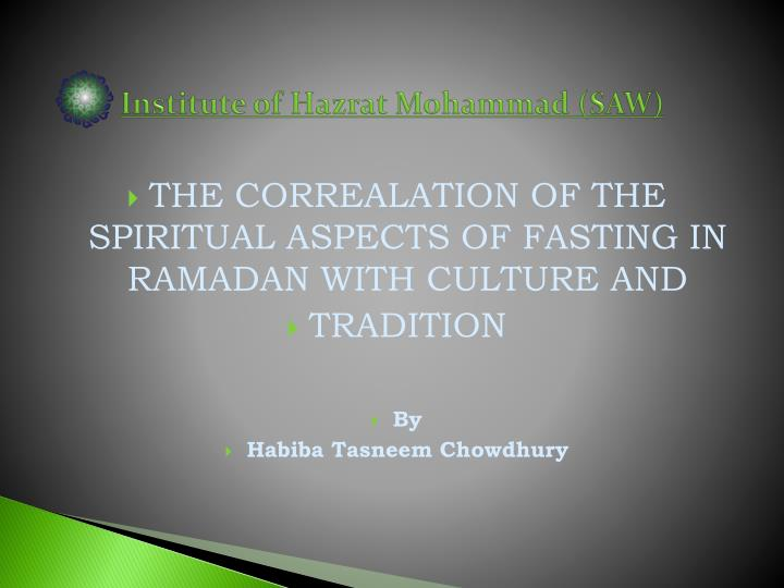 fasting and ramadhan in java and dissertation Things slow down during ramadan because the majority of people are fasting you should check whether any of the activities you want to do are still available the flipside is that things are quieter, so you don't have the crowds you do at other times of the year.