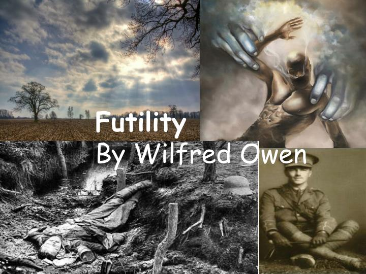 futility by wilfred owen essay Wilfred owen: futility futility - synopsis and commentary futility - language how to plan an essay sample questions on the poetry of wilfred owen wilfred owen worksheet downloads futility - language, tone and structure language in futility plain language.