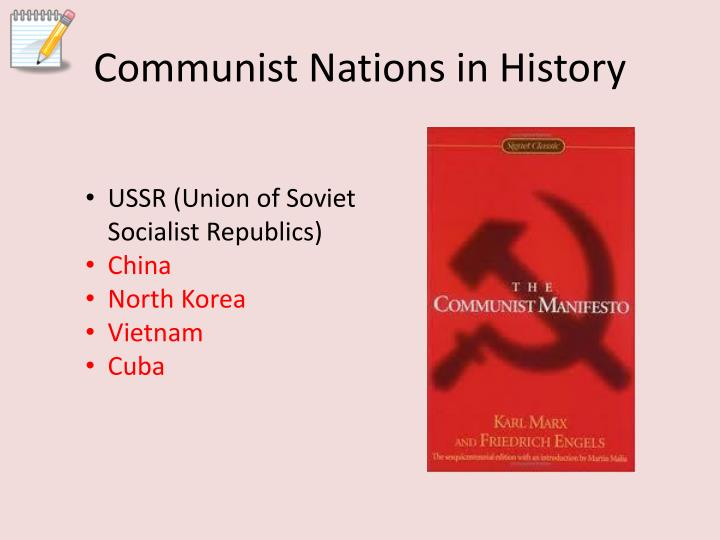 Communist Nations in History