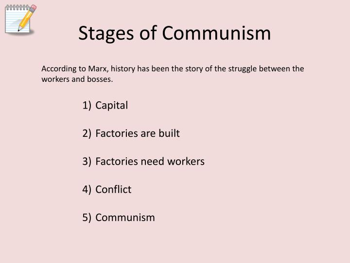 Stages of Communism