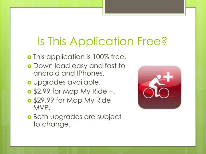 Is This Application Free?
