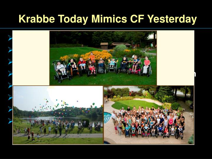 Krabbe Today Mimics CF Yesterday
