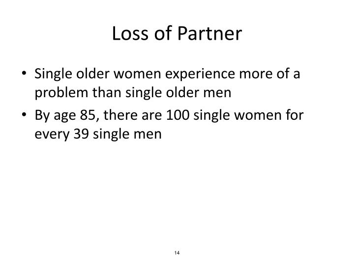 Loss of Partner