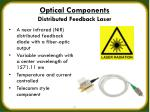 optical components distributed feedback laser