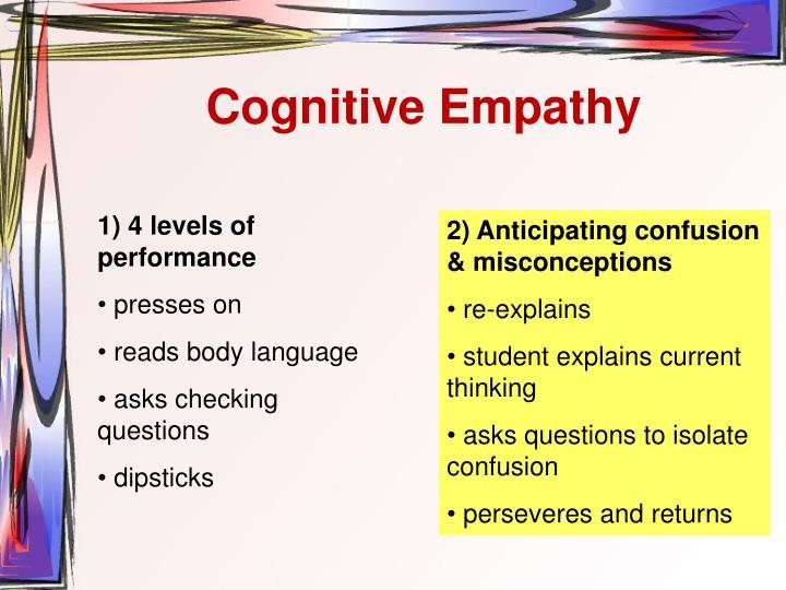 Cognitive Empathy