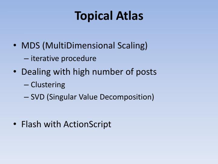 Topical Atlas