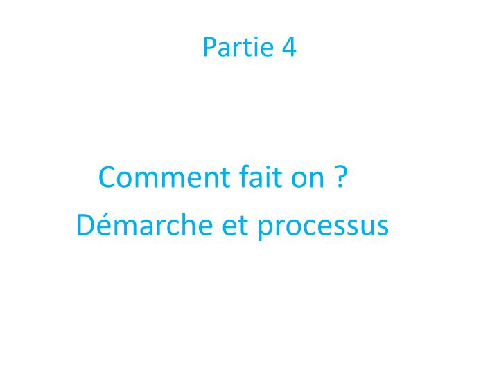 Partie 4