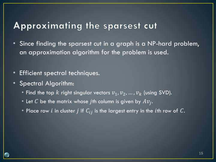 Approximating the