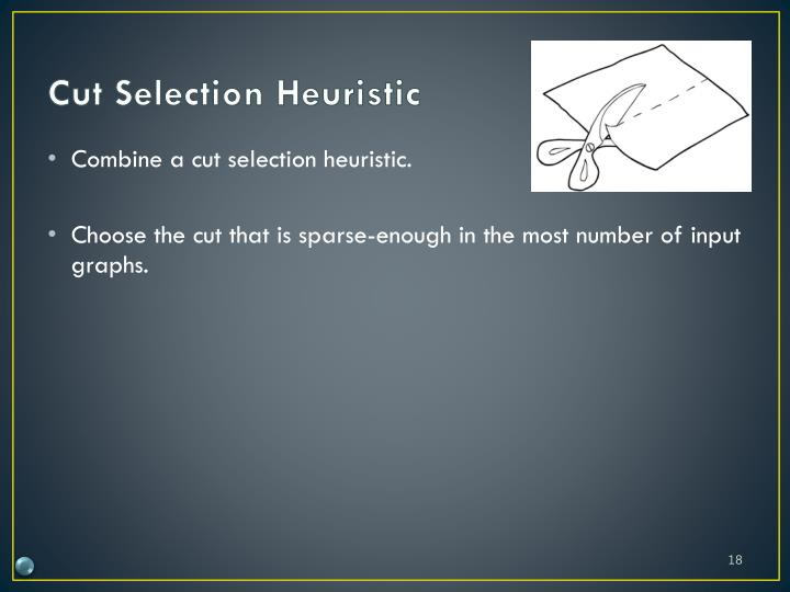 Cut Selection Heuristic