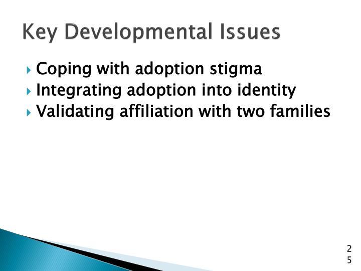 Key Developmental Issues