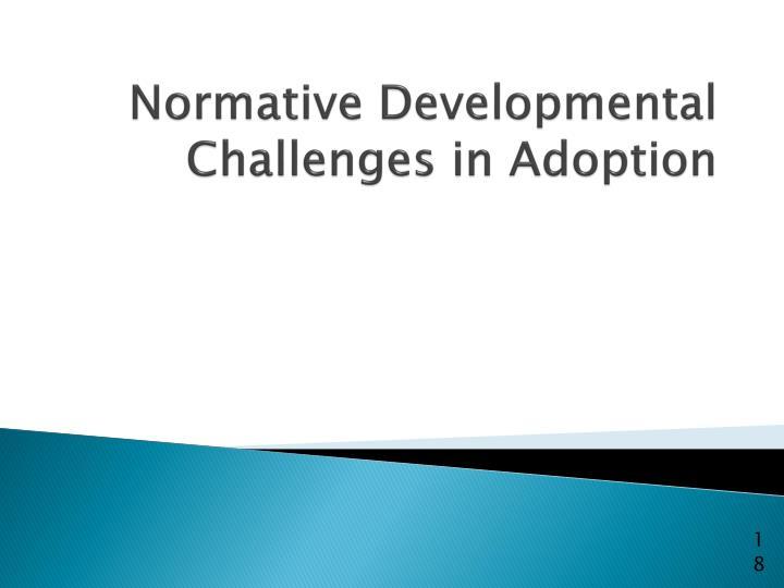 Normative Developmental Challenges in Adoption