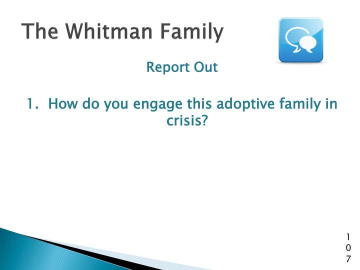 The Whitman Family