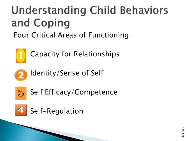 Understanding Child Behaviors and Coping