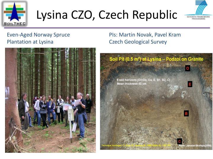Lysina CZO, Czech Republic