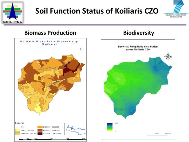 Soil Function Status of