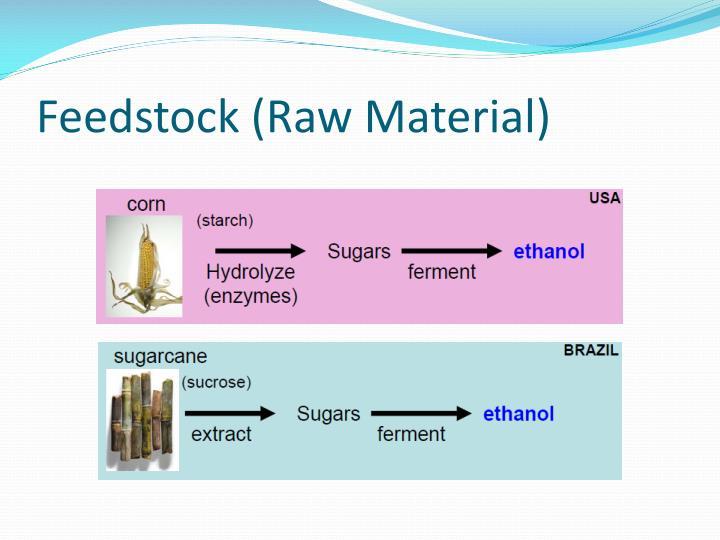 Feedstock (Raw Material)