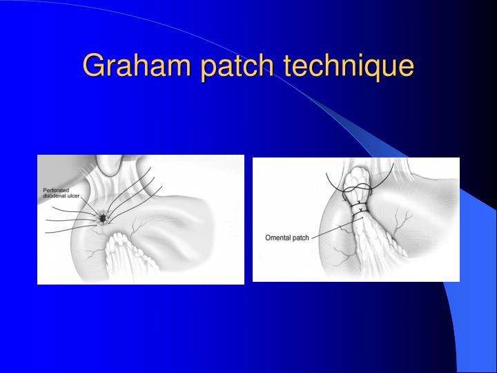 Graham patch technique
