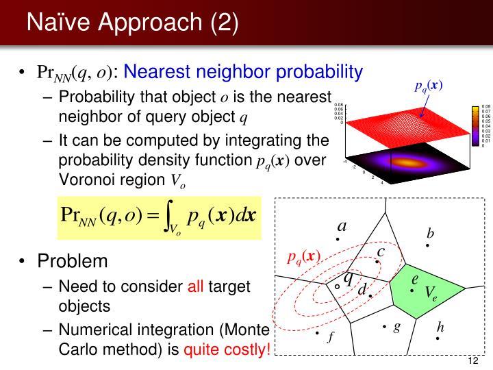 Naïve Approach (2)