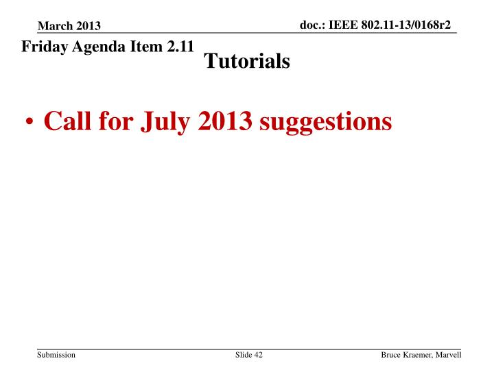 Friday Agenda Item 2.11