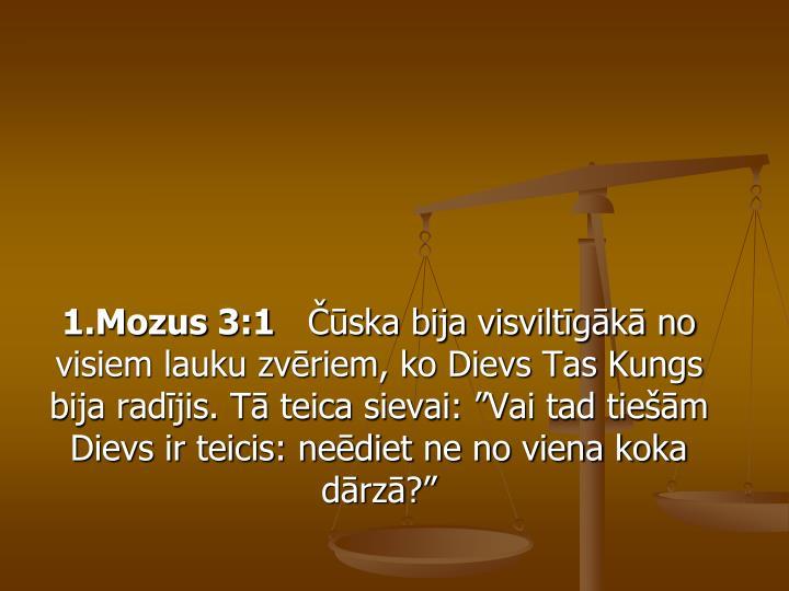 1.Mozus