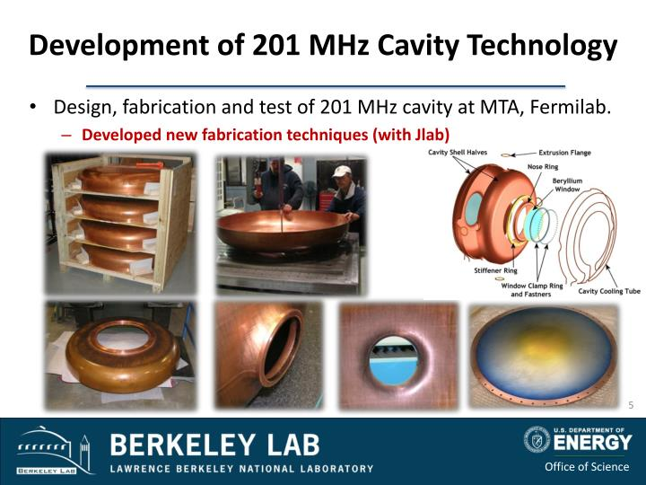 Development of 201 MHz Cavity Technology