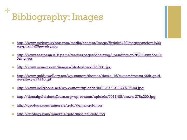 Bibliography: Images