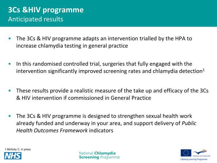 3Cs &HIV programme