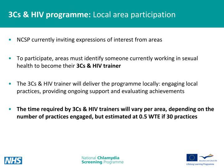 3Cs & HIV programme: