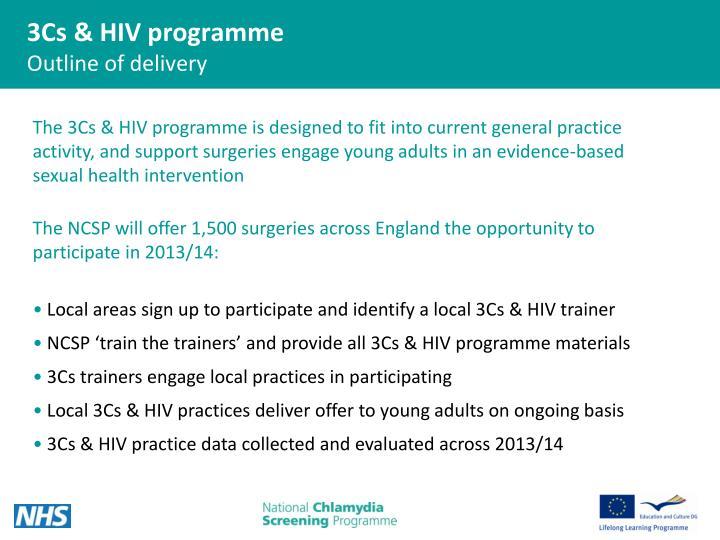 3Cs & HIV programme
