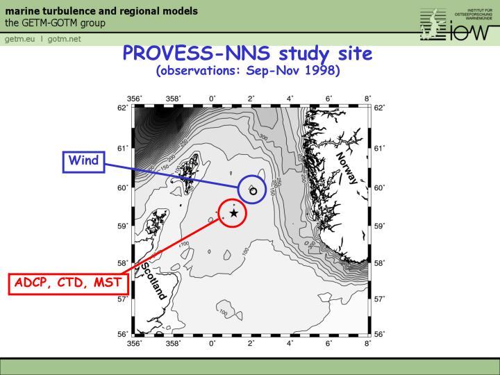 PROVESS-NNS study site
