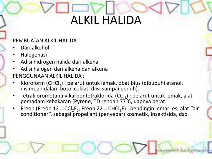 ALKIL HALIDA
