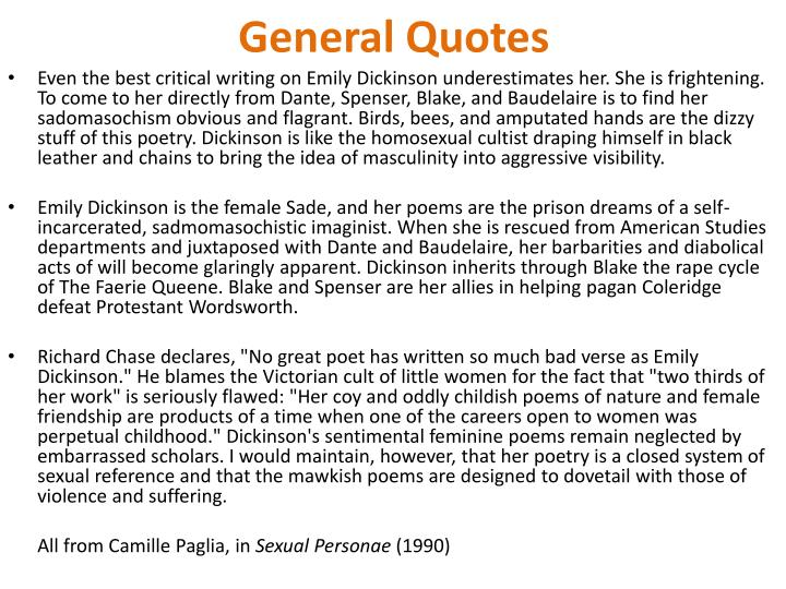 General Quotes