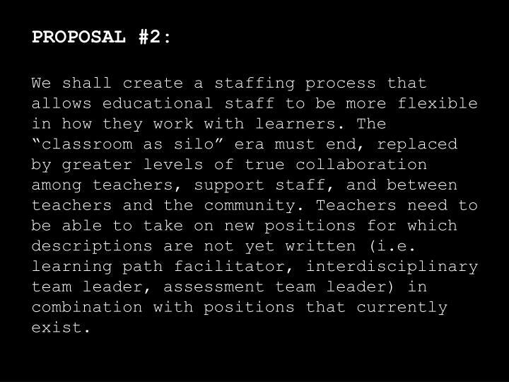 PROPOSAL #2: