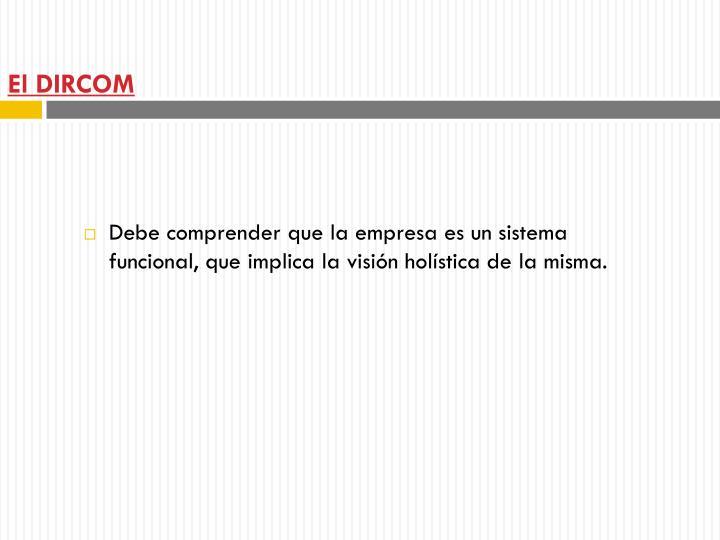 El DIRCOM