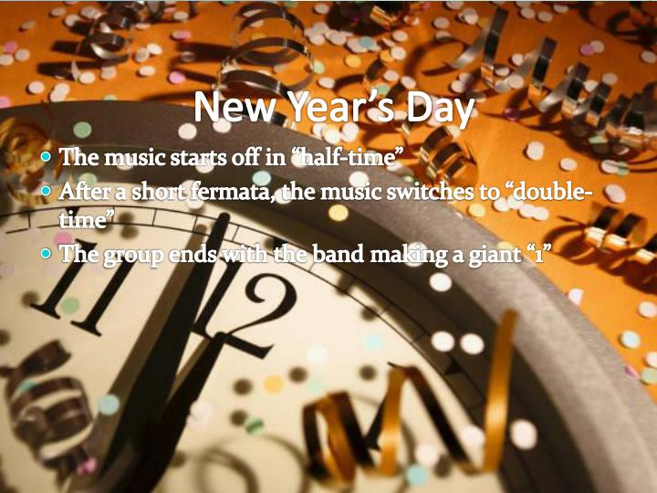 New Year's Day